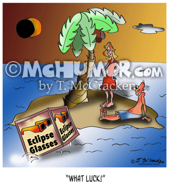 9523 Eclipse Cartoon