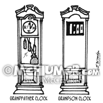 Clock Cartoon 3212