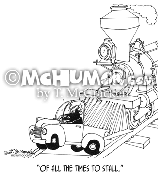 Train Cartoon 3230
