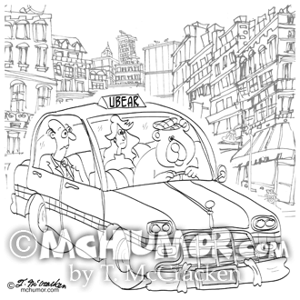 Uber Cartoon 9440