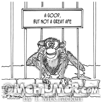 Ape Cartoon 1537