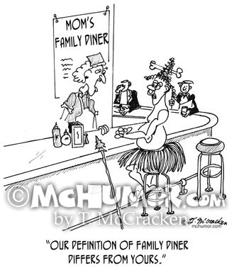 Restaurant Cartoon 1600