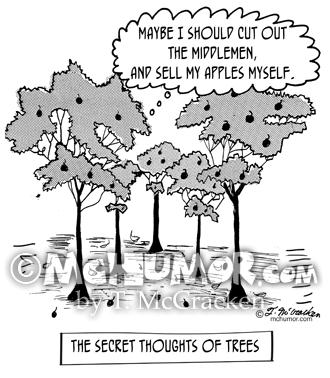 Tree Cartoon 1666