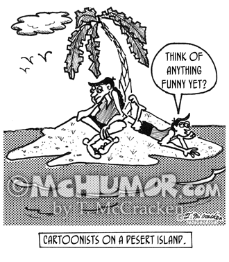 Cartoonist Cartoon 1962