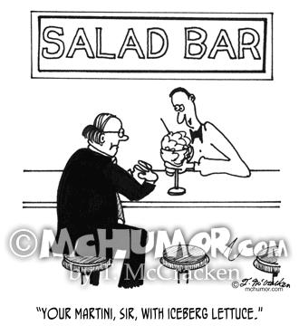 Salad Cartoon 4257