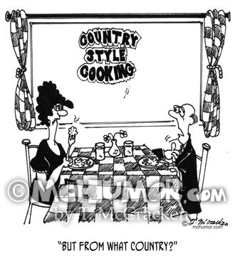 Cooking Cartoon 4527