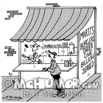 Burger Cartoon 4799