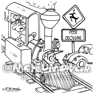 Train Cartoon 4874