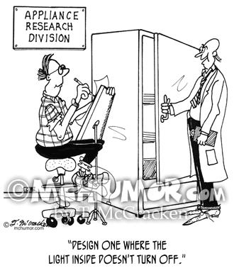 Refrigerator Cartoon 4876