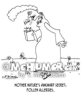Allergy Cartoon 4885