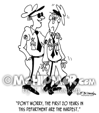 Police Cartoon 6226