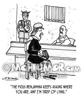 Prison Cartoon 9493