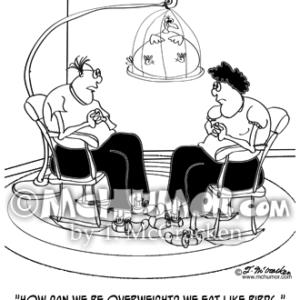 9194 Obesity Cartoon